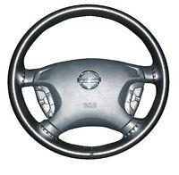 Black Leather Steering Wheel Cover Fits Hyundai Sonata 1992 1993 1994 1995 Ax