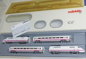 Maerklin-3371-ICE-Triebwagenzug-4-tlg-DB-BR-410-H0-1-87-OVP-TOP-Zustand