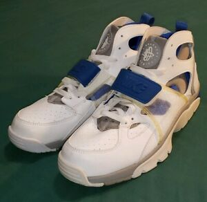 info for 5e57e 30b2a Details about Rare DS OG Nike Air Huarache Trainer 2003 White Blue Grey  Men's Size 9.5 New!!
