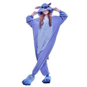 super popolare a9236 7d3d1 Stitch Kigurumi Pigiama Anime Cosplay Costume Felpa con cappuccio ...
