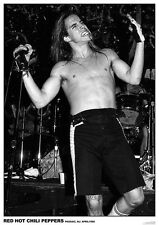 RED HOT CHILI PEPPERS POSTER ANTHONY KIEDIS PASSAIC NEW JERSEY 1988