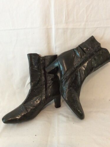Unisa 40 scuro Stivali caviglia pelle taglia in verde fSFgUqFx