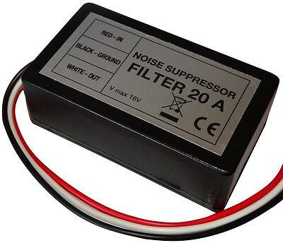 paquete 2 Interferencias de radio Supresor De Ruido Radio Filtro de ruido 5a 75w
