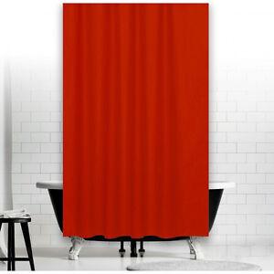 Rideau de douche en tissu rouge 180x200 incl. ANNEAUX 180 200 cm | eBay