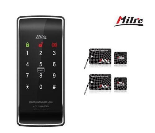 Milre MI-450S Digital doorlock Keyless Lock carte 4 F 2Way