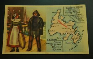 Vintage-Cigarettes-Card-Newfoundland-TERRANOVA-REGIONS-OF-THE-WORLD-COLLECTION