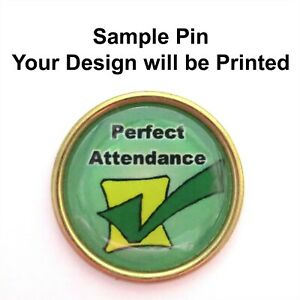 Custom-Design-Brass-Backed-Pins-1-034-Lot-of-5-You-Choose-the-Graphics-amp-Text