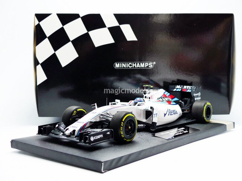Minichamps Williams Mercedes FW37 2015 Martini V.Bottas   77 1 18 Maßstab Neu  | Einzigartig