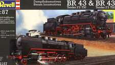 Revell 1:87 - Steam Locomotive BR 43 + Free Tube of Glue