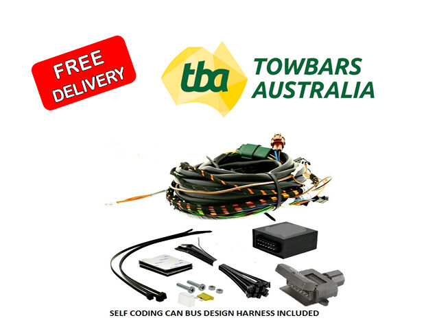 VW Amarok V6 Direct Plug in Can-bus Towbar Wiring Kit