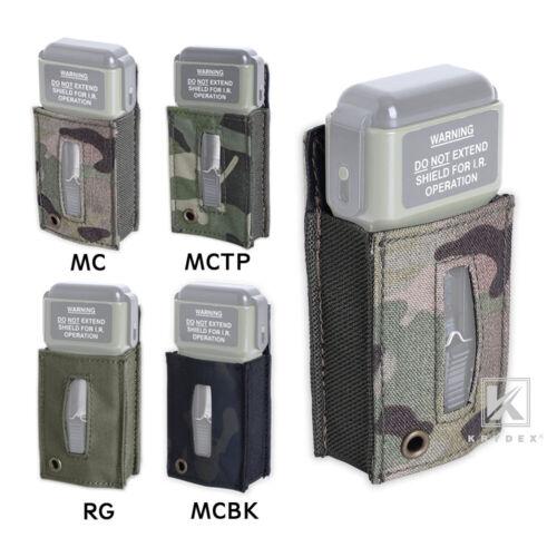 Krydex Tactical MS2000 Distress Light Pouch Marker Strobe Light Carrier Case