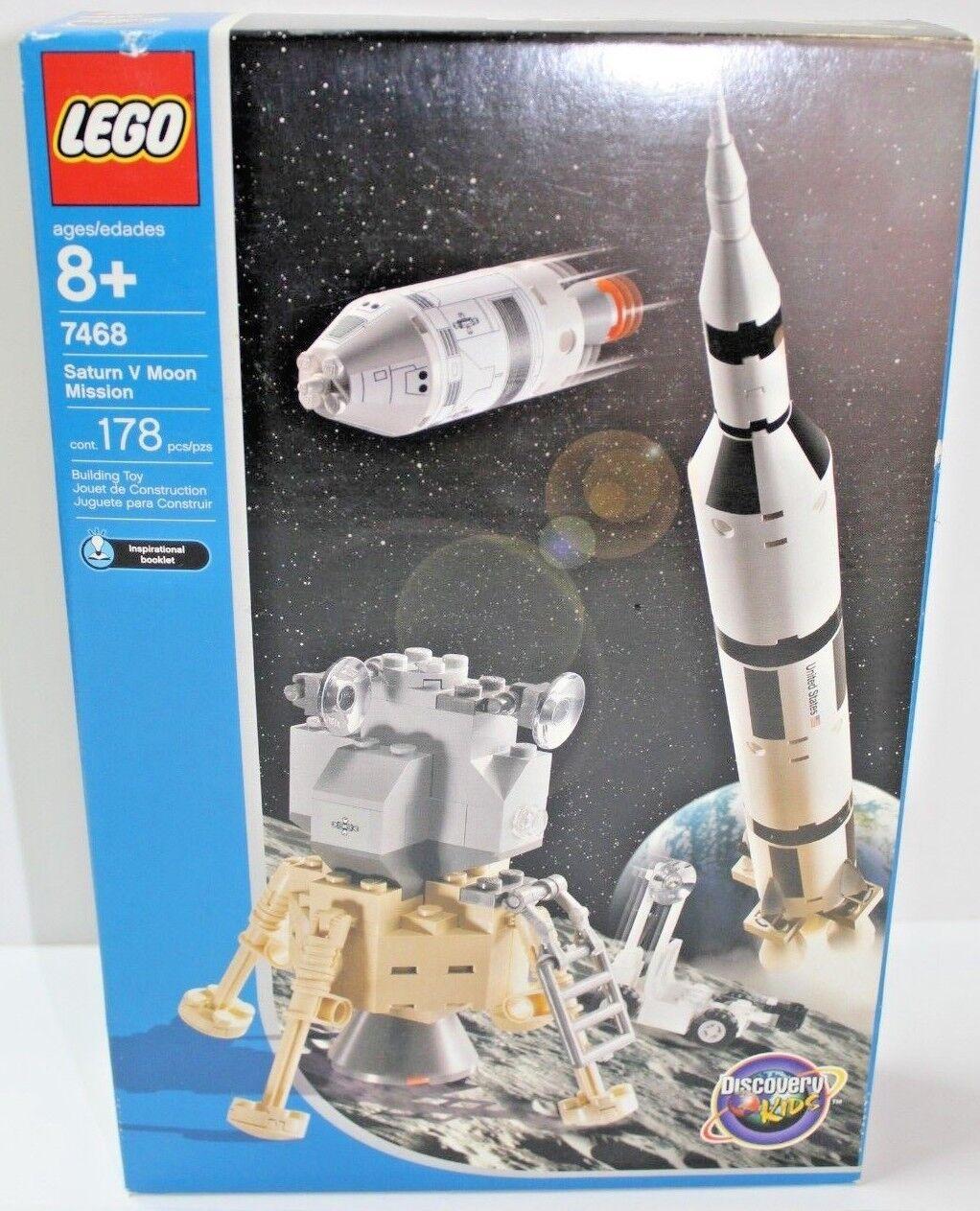LEGO LEGO LEGO 7468 Saturn V Moon Mission  NIB  FREE SHIPPING 6b2f29