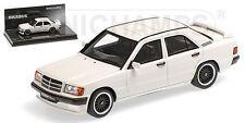 Minichamps 437032602 BRABUS MERCEDES 190E 3.6S - 1989 - Weiss - 1:43 #NEU
