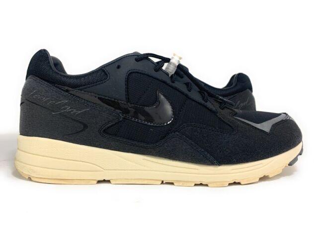 jefe obturador para jugar  Nike Air Skylon II 2 X Fear of God Athletic Shoes Sz 9 Mens SNEAKERS White  Black for sale online | eBay