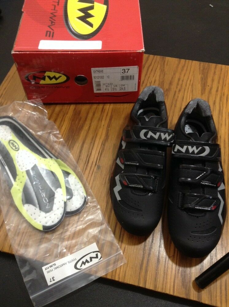 Northwave Extreme Carbon Road Cycling shoes Size 37 Euro 5.5 Us (5045)