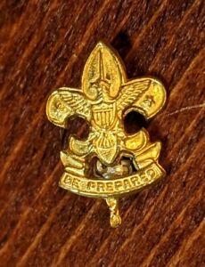 Vtg-Boy-Scouts-First-Class-Rank-Badge-Pin-Small-BSA-Pin-Be-Prepared