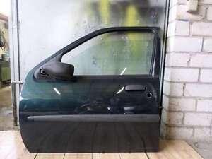 Ford-Fiesta-IV-JA-JB-Bj-1998-Tuer-Vorne-Links-Fahrertuer-Olfarbe-Farbe-Gruen