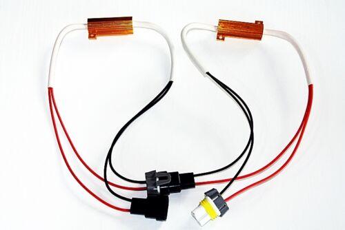 1x Lastwiderstand Widerstand H8 H11 LED SMD Nebelscheinwerfer 50 W Watt 10 Ohm