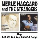 Hag/Let Me Tell You About a Song by Merle Haggard (CD, Jul-2002, Beat Goes On)