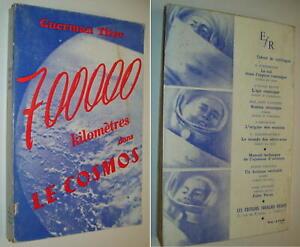 CONQUÊTE SPATIALE 1961 GUERMAN TITOV COSMONAUTE RUSSIE VOL ORBITAL FUSÉE VOSTOK2
