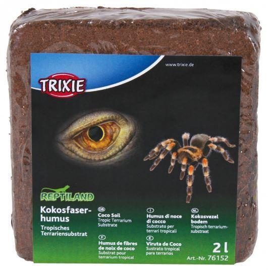 Trixie Kokosfaserhumus, tropisches Terrariensubstrat, diverse Sparpakete