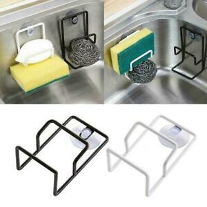Kitchen-Suction-Cup-Base-Brush-Sponge-Sink-Towel-Rack-Washing-Holders-J6U4