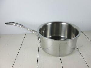Calphalon 1 1/2 quart 1.5 Qt Sauce Pan No Lid Heavy Stainless Steel 8701 1/2
