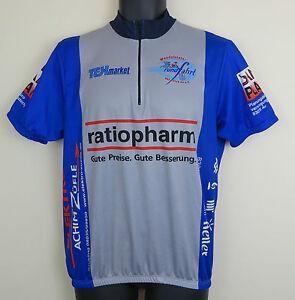 89f602bb9 Image is loading Vtg-Cycling-Tex-Retro-Wendelstein-Rundfahrt-Jersey-Vintage-