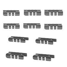 Glass Wood Metal Shelves Gridwall Display Fixture Glass Shelf Rest Clips 100 Pc