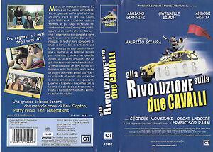 ALLA-RIVOLUZIONE-SULLA-DUE-CAVALLI-2001-vhs-ex-noleggio