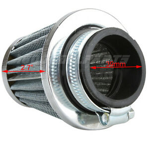 39mm Air Filter for 125-200CC ATVs, Dirt Bikes, 125cc Go Karts