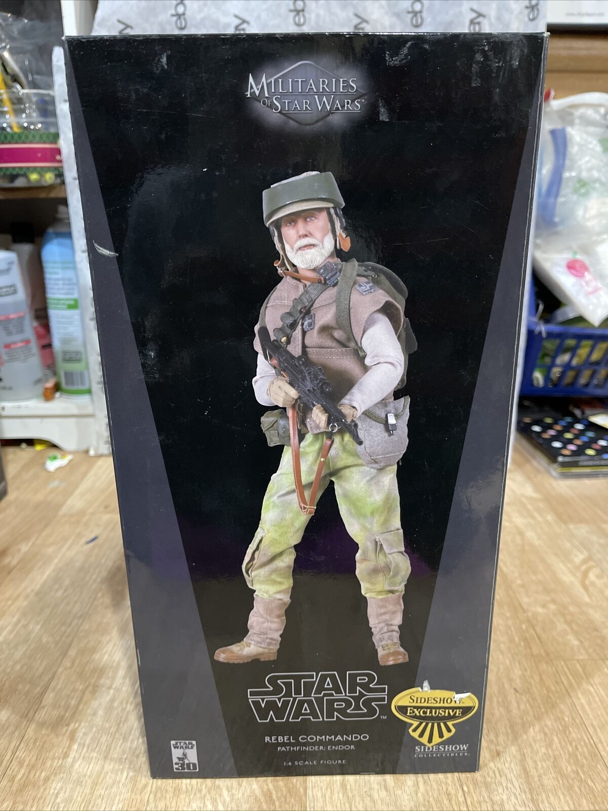 Sideshow Collectibles 1:6 scale Star Wars Militaries Endor Rebel Commando NEW on eBay thumbnail