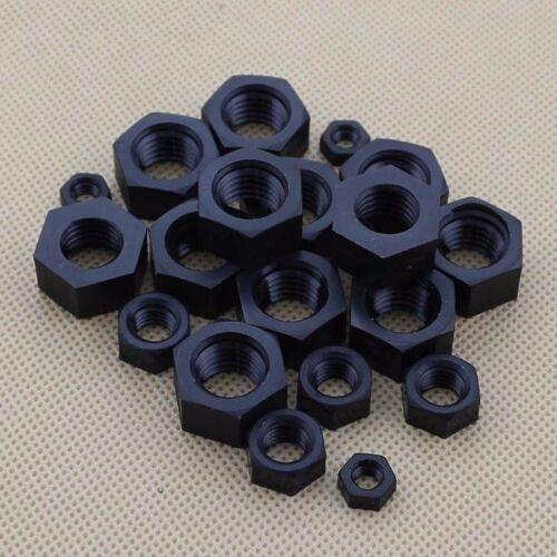 Nylon Hex Nut Plastic Hexagon Nuts M2 M3 M4 M6 M8 M10 M12 M14 M16 M18 M20