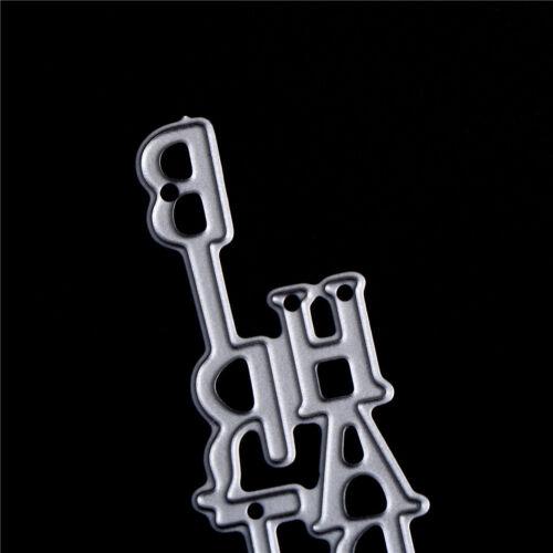 2xAlle Gute zum Geburtstag Buchstaben Metall Stanzformen Scrapbooking Decor YR
