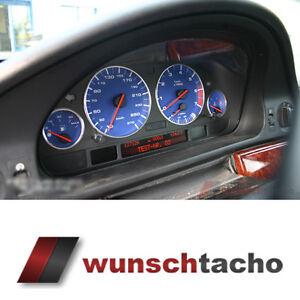 Tachoscheibe-fuer-BMW-E38-E39-E53-X5-034-Alp-Blue-034-Benziner