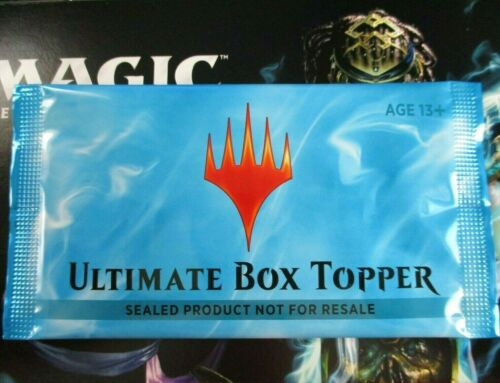 Ultimate Masters Box Topper Pack MTG UMA New Factory Sealed English Extended Art