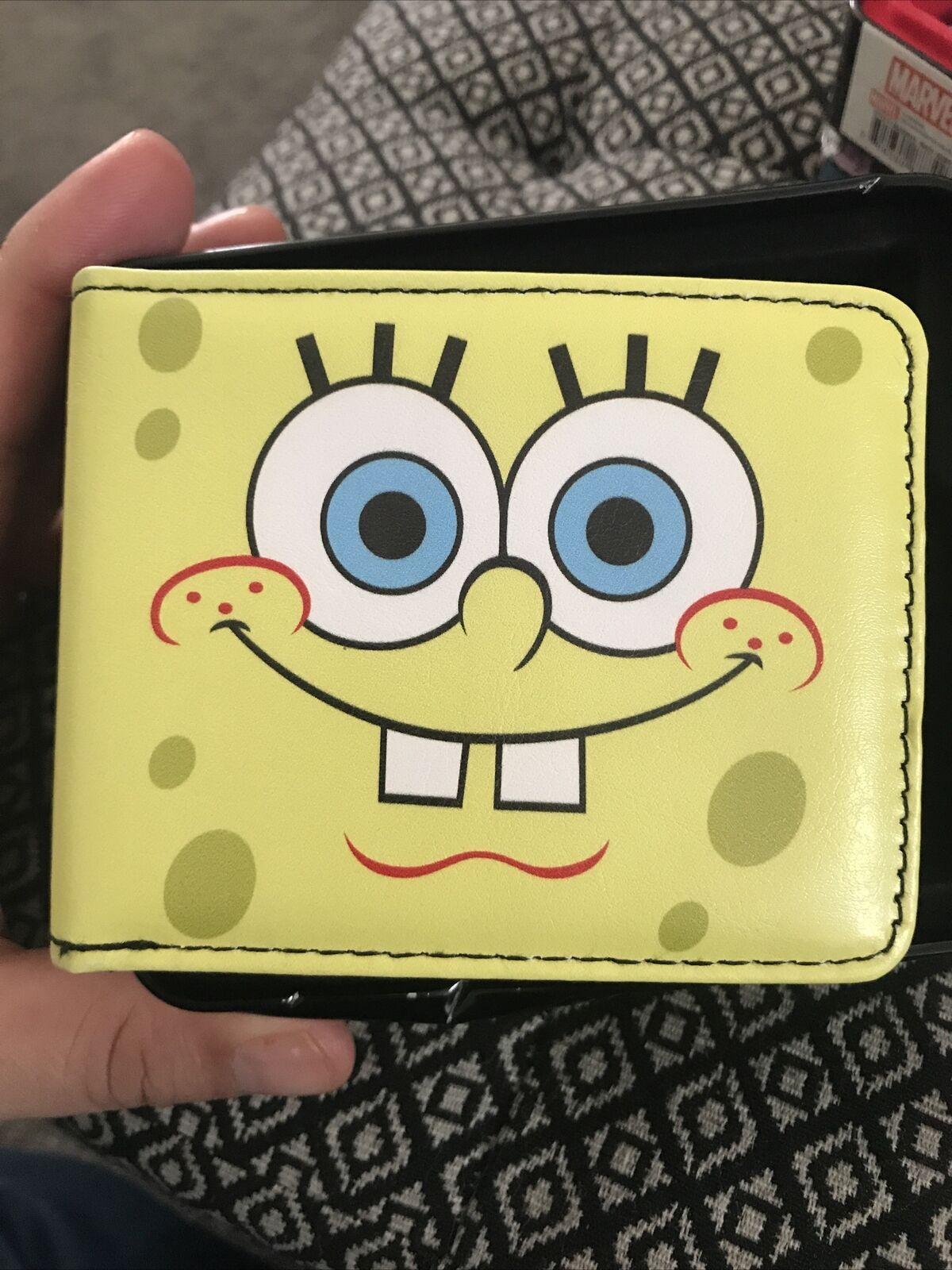 New Men's Bi-fold Wallet - Nickelodeon's Spongebob Squarepants