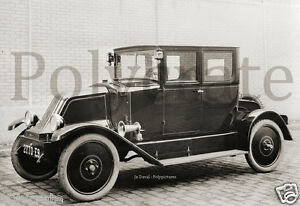 Automobile voiture ancienne an.1920 Renault type à identifier repro photo 14
