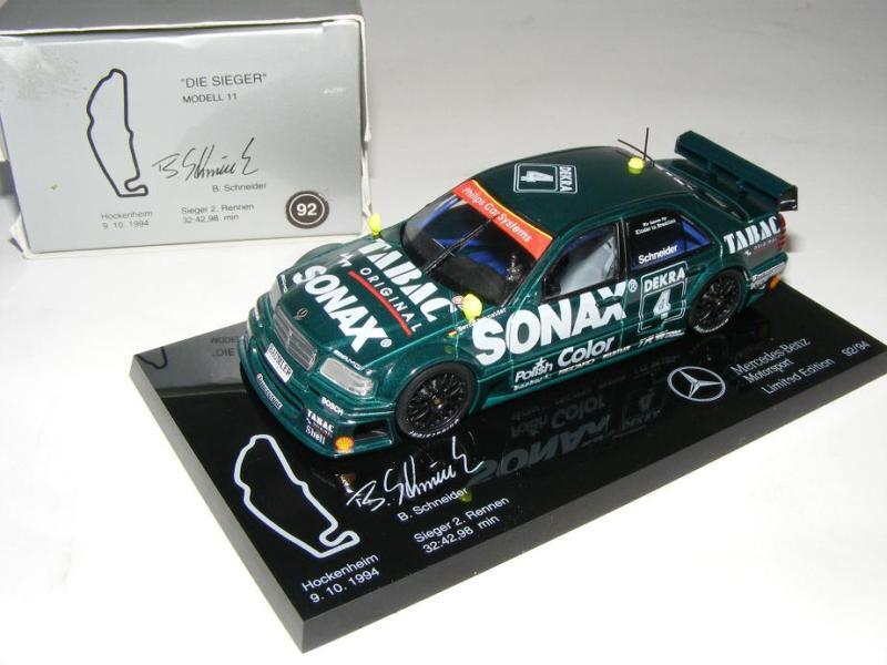 1 43 Minichamps AMG Mercedes C DTM 94  Die Sieger