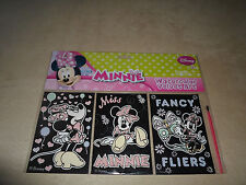Disney Minnie Mouse Watercolor Velvet Art Set & Brush~For Ages 3+~NEW IN PACKAGE