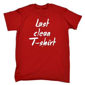 cc5080ed1 Funny Novelty T-Shirt Mens tee TShirt - Last Clean Tshirt   eBay