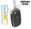 Guscio-Chiave-Cover-Telecomando-3-Tasti-CR1620-PER-AUDI-Q5-A1-A3-A4-A6-A8Q7 miniatuur 1