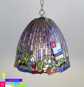 Lotus flower tiffany style stained glass lamp shade desk table or image is loading lotus flower tiffany style stained glass lamp shade aloadofball Image collections