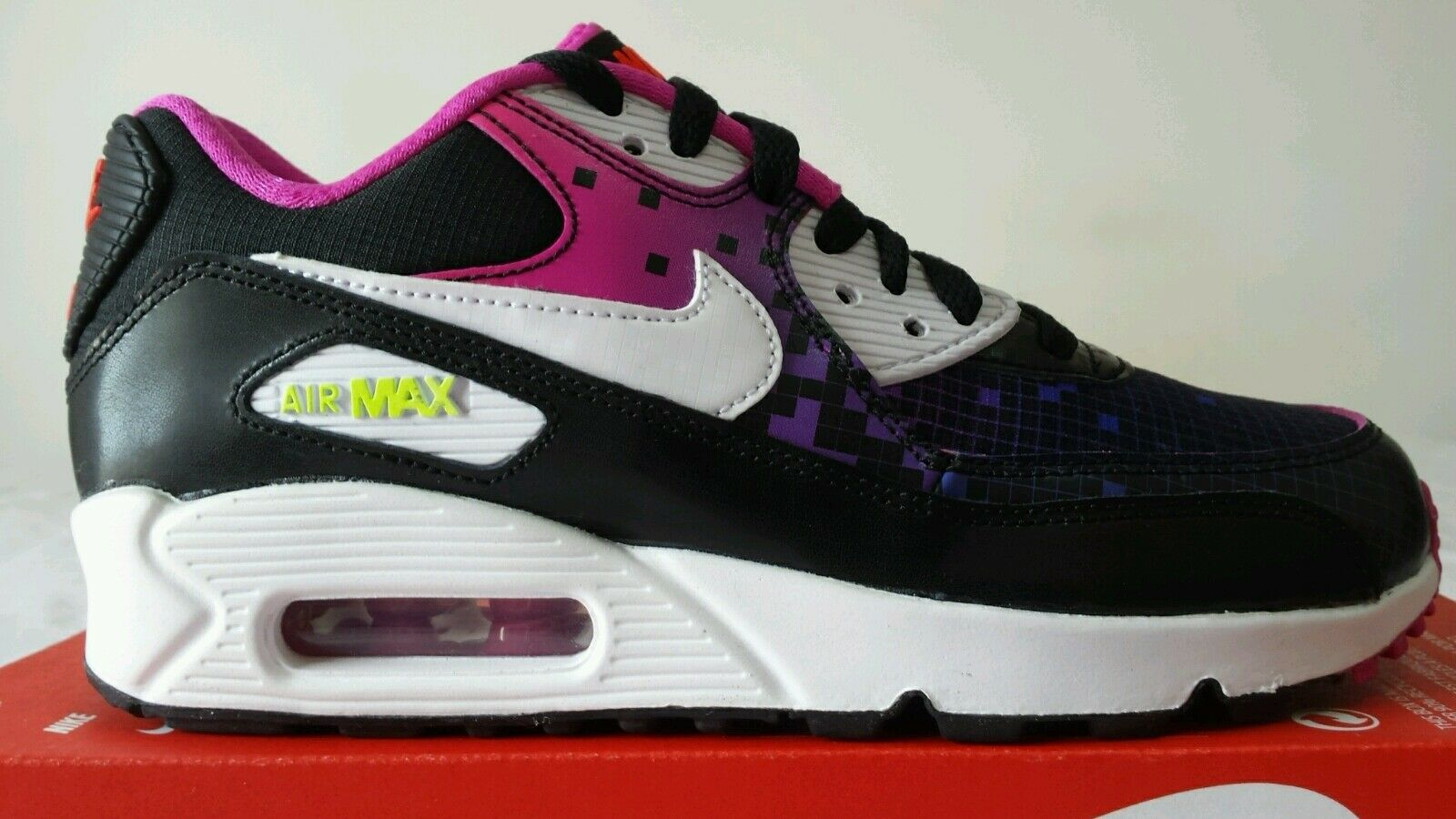 NIKE AIR MAX 90 WMNS BLU SCURO FUXIA N.36 NEW COLOR LIMITED EDITION OKKSPORT