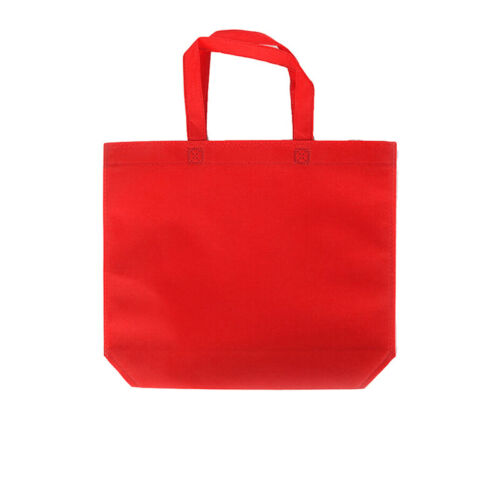 1Pcs Reusable Shopping Bags Foldable Non-woven Grocery Tote Bag Pouch New LO