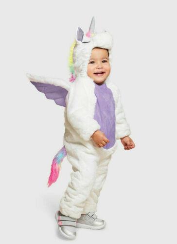 Unicorn Pegasus Plush Halloween Costume Dress Up Gift Infant Toddler