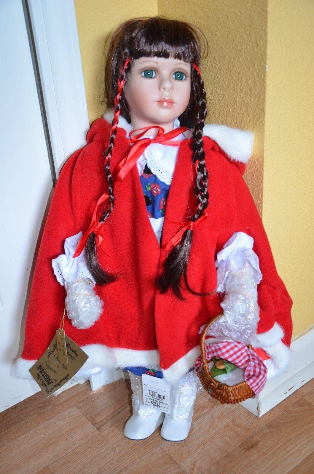 Connoisseur Collection Seymour Mann rosso RIDING HOOD Porcelain 24  doll