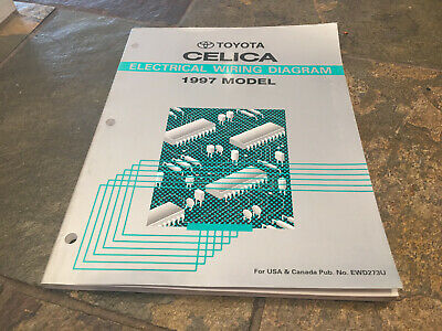 1997 Toyota CELICA Electrical Wiring Diagrams Service ...
