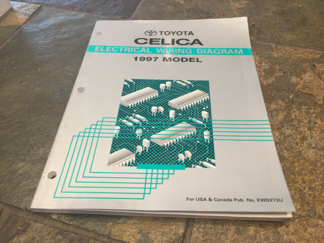 1997 Toyota Celica Electrical Wiring Diagrams Service