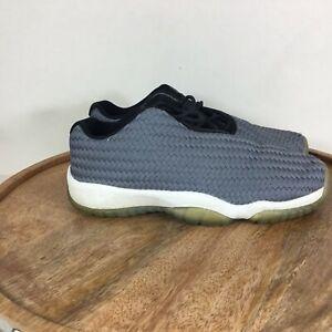 Nike-Air-Jordan-Future-Low-Sneaker-Shoes-Gray-White-724813-004-Size-5-Youth